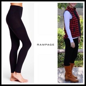 Rampage Accessories - RAMPAGE PLUSH LEGGINGS PANTS STYLE